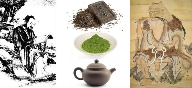 Grüner Tee – Geschichte in China