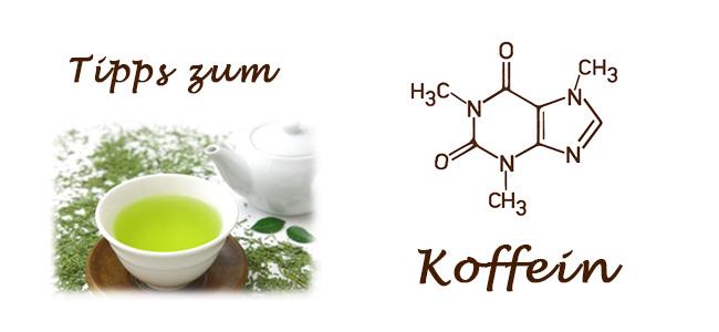 Koffein – 10 Tipps zum grünen Tee