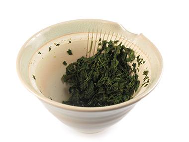 Grüner Tee Aufguss