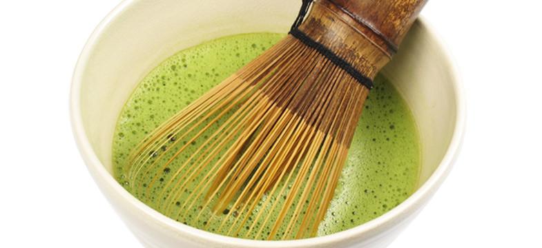 Zubereitung von Matcha-Tee
