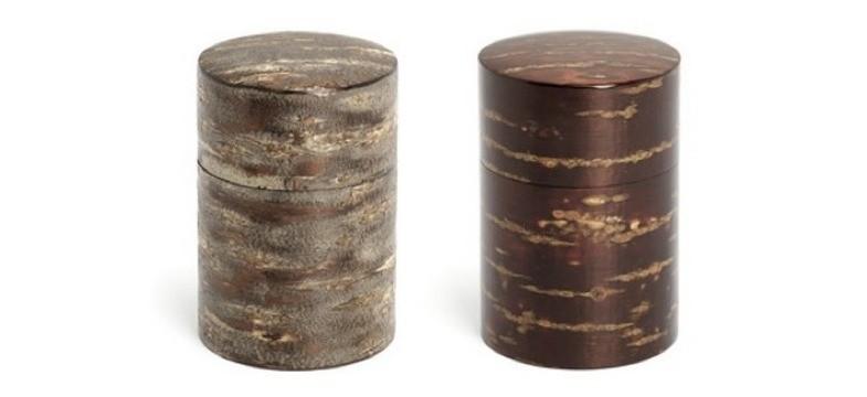 Kabazaiku: Teedose aus Kirschbaumrinde