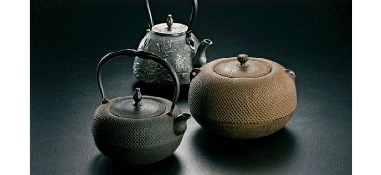 Geschichte der Kessel aus Gusseisen in Japan
