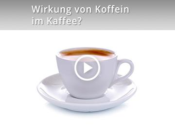 Wirkung von Koffein im Kaffee