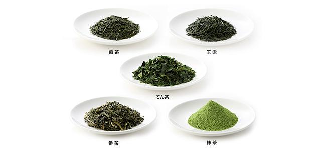Grüner Tee Sorten Japan