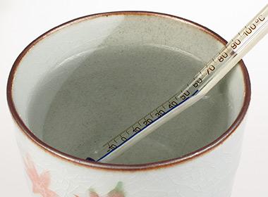 Temperatura do chá
