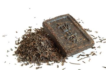 Chinesischer Teeziegel