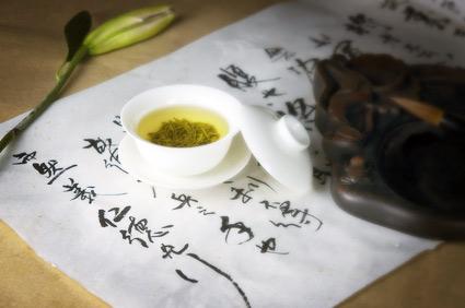 Grüner Tee Teeset