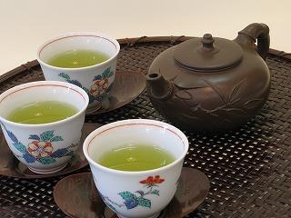 preparação do chá verde
