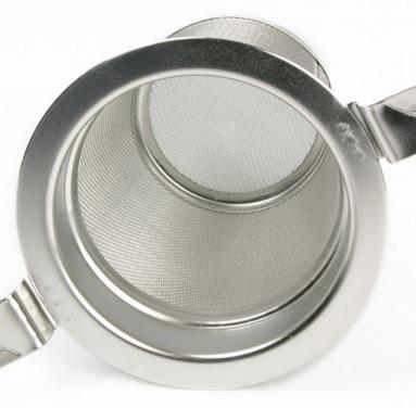 Edelstahl-Teesieb mit großem Volumen