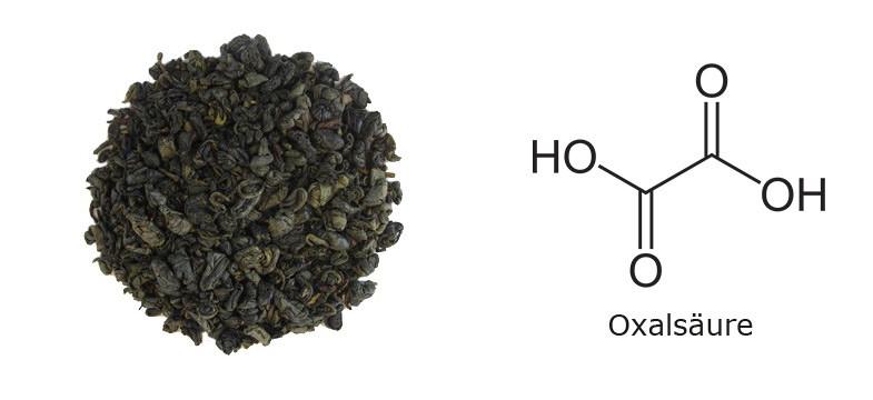 Oxalsäure im chinesischen grünen Tee