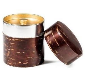 Kabazaiku-Teedose mit Blechinnenbehälter