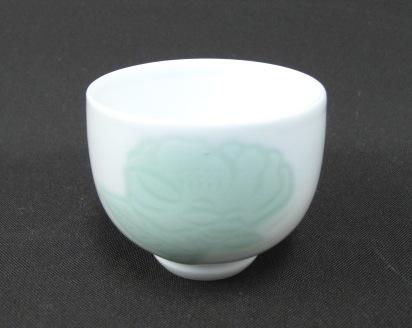 Arita-Porzellan, Sake-Schale (Inoue Manji)