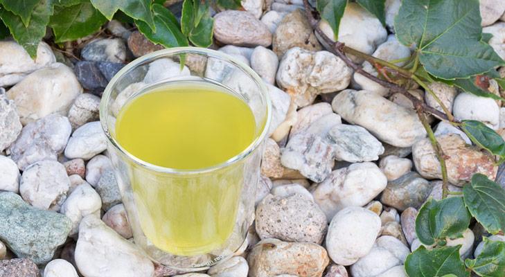 Mizudashi Tee im Glas